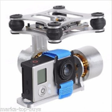 2-Axis Aluminum Brushless Camera Mount Gimbal Frame for Gopro Hero 2 3 DJI Phant