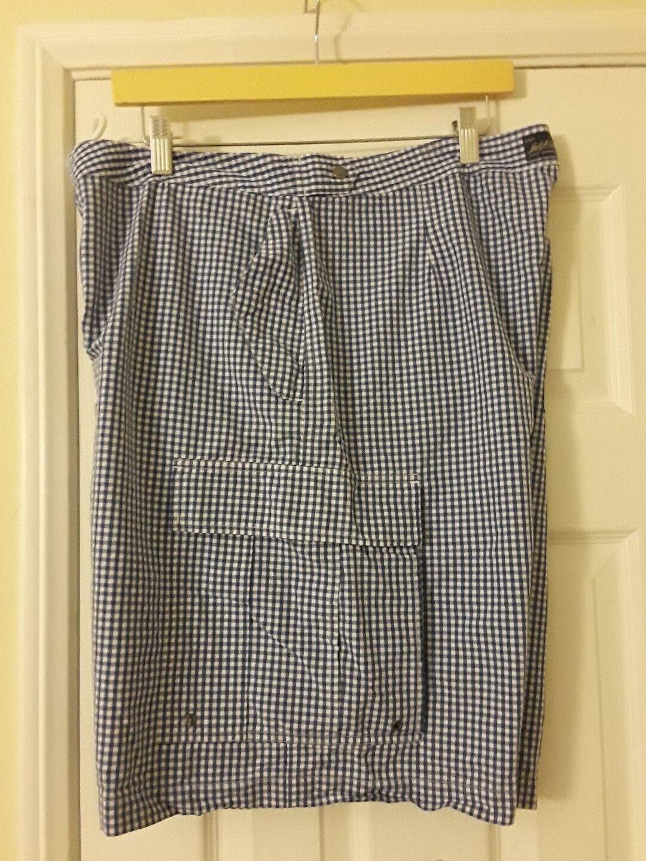 Men Ralph Lauren Polo Swim Board Trunks Shorts 38 bluee White