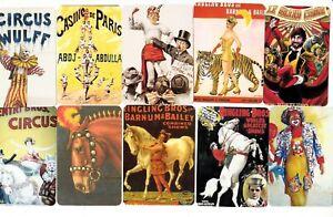 50-SWAP-PLAYING-CARDS-CIRCUS-CLOWNS-ANIMALS-BARNUM-amp-BAILEY-SO-CHEAP-25c-EACH