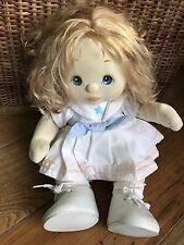 Mattel Canada 1985 My Child Doll Blond Hair Blue Eyes