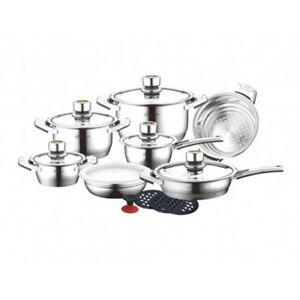 Details about Bachmayer & Co  Swiss High Quality Stainless Steel Cutlery  Cookware set
