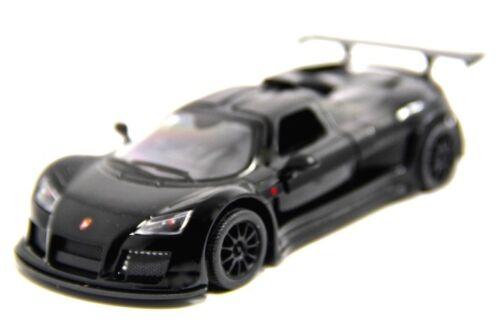 """5/"""" Kinsmart 2010 Gumpert Apollo Sport Diecast Model Toy Car 1:36 Black"""