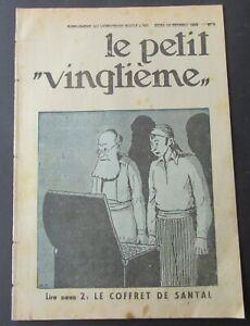 TINTIN-HERGE-LE-PETIT-VINGTIEME-NO-7-1932-BON-ETAT