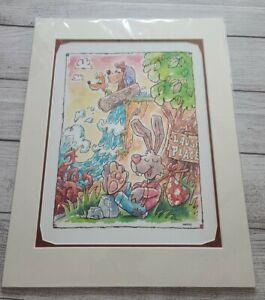 2020-Disney-Parks-David-Buckley-Print-Up-At-Splash-Mountain-Brer-Rabbit-Fox-Bear