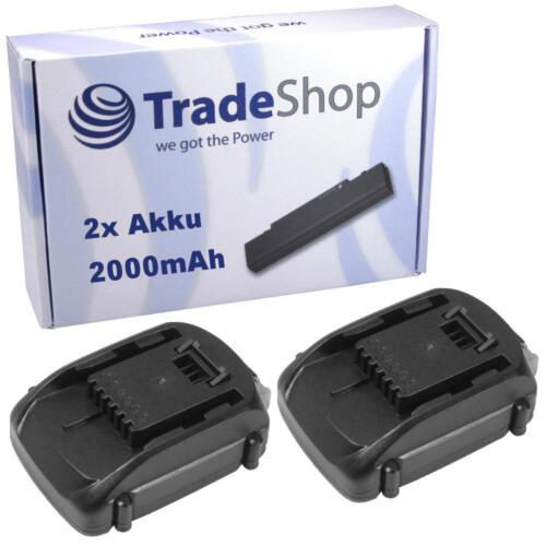 2x Batterie 18v Li-Ion 2000mah remplace worx wa3512 pour wg151 wu287 wu381 wx163