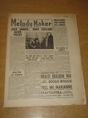 100% Kwaliteit Melody Maker 1947 April 12 Jack Harris Henry Hall Eric Winstone +