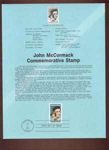 2090-20c-John-McCormack-USPS-8421-Souvenir-Page