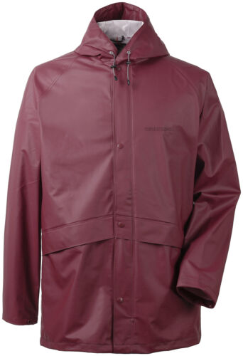 Didriksons Outdoorjacke Jacke Avon Men/'s Jacket  weinrot winddicht wasserdicht