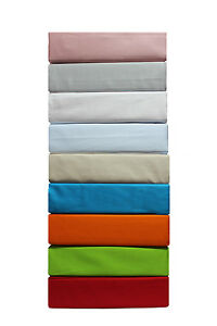 NEW Jenny Mclean 100% Egyptian Cotton 400TC Sheet Set Solid Single Bed Size