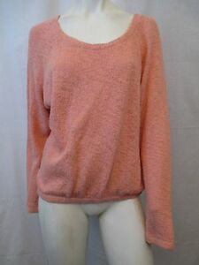 ZARA-TRAFALUC-BOAT-NECK-KNITTED-WOMEN-SWEATER-SIZE-SMALL-PEACH-VIC-THOR1