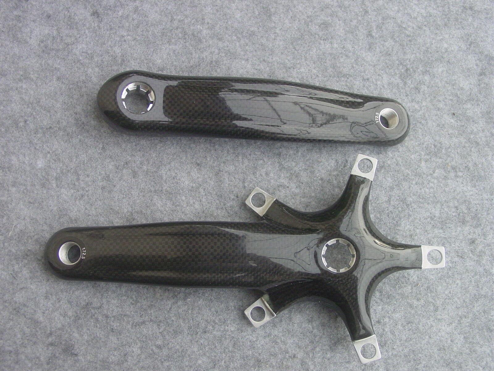 Carbon Crank External 172,5 -175 mm 5 Arm Bolt Circle Bolt Circle 130-74mm