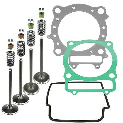 Cylinder Head Valve Gasket Kit Fits Honda TRX450R Kick ...