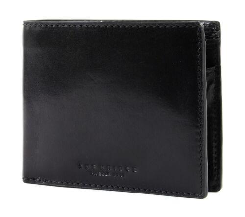 The Bridge Capalbio Men/'s Wallet portefeuille BLACK noir NEUF