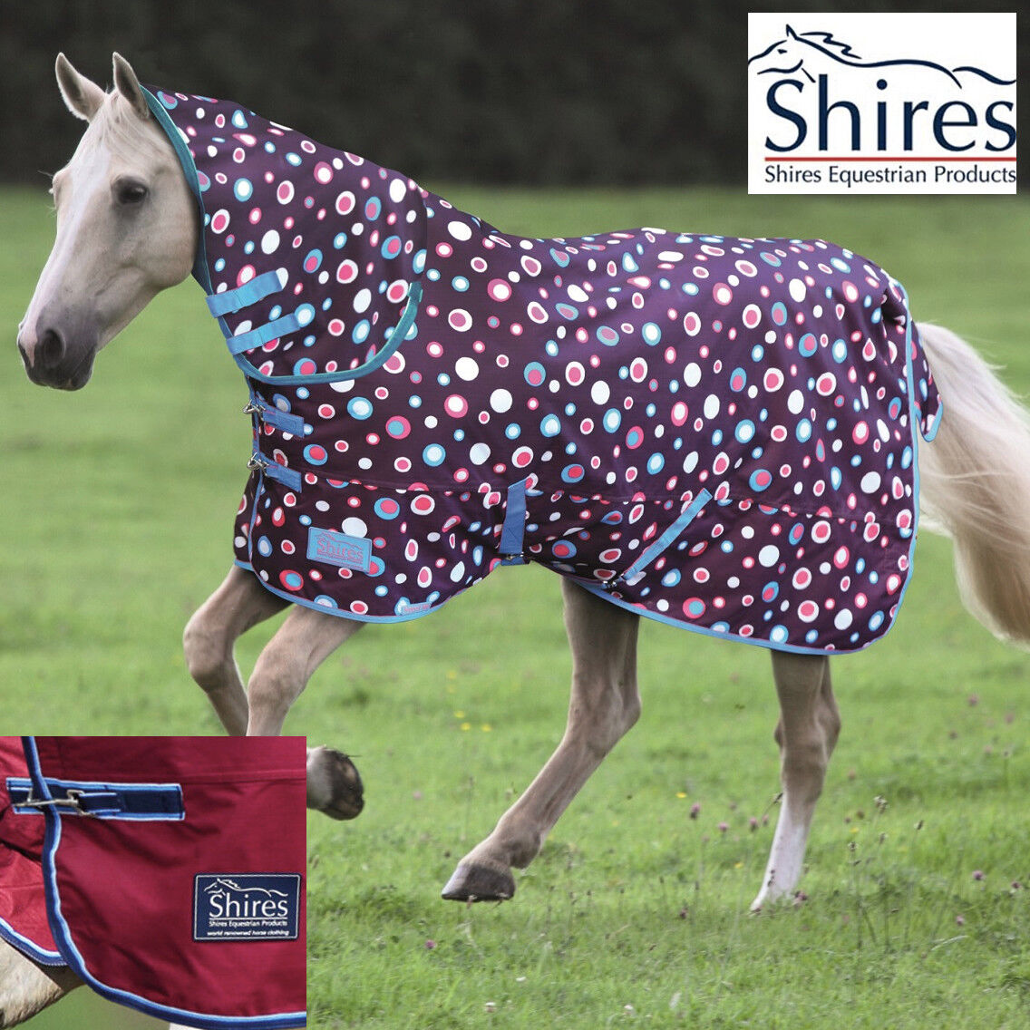 Shires 180 Combo Turnout Rug