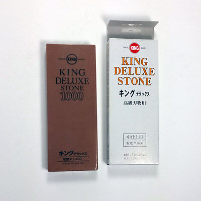 KING Dleuxe Stone Sharpening Japan Whetstone #1000   TL0001