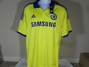 8fed8813c6a New Mens Adidas ClimaCool Chelsea FC Away Soccer Jersey Premiere ...