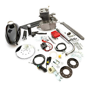 Motorised-2-stroke-100cc-Engine-Petrol-Bicycle-Bike-Conversion-Kit-Pedal-Start
