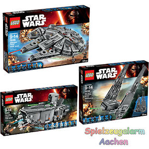 LEGO-STAR-WARS-Set-75103-75104-75105-First-Order-Transporter-Millennium-Falcon
