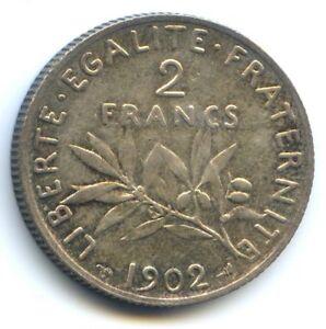 III No Republic (1871-1940) 2 Francs Sower 1902