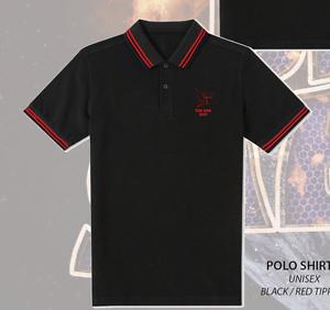 BLACK-SABBATH-The-End-2017-Polo-Shirt-Embroidered-NEW
