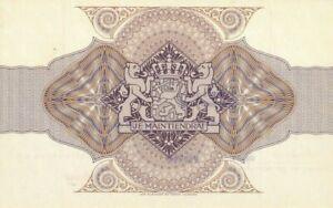 HOLLAND-Netherlands-de-nederlandsche-bank-certificaat-je-maintiendrai