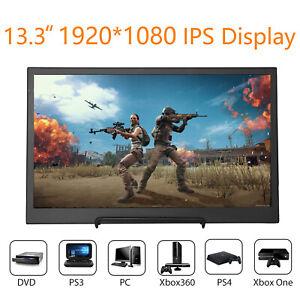13-3-034-IPS-Monitor-1920x1080-16-9-Speaker-4-Raspberry-Pi-3-PS3-PS4-Xbox-360-Mac