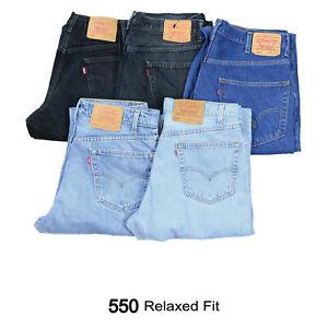 VINTAGE-LEVIS-550-RELAXED-FIT-JEANS-DENIM-GRADE-A-W30-W32-W34-W36-W38-LEVI-550s