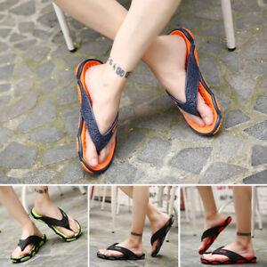 2b00111a7 Image is loading Mens-Comfortable-Flip-Flops-Shoe-Indoor-Slippers-Shoe-