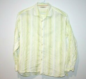 Tommy-Bahama-Dress-Formal-Shirt-Men-039-s-Size-2XL-XXL