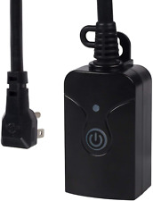 Outdoor Smart Wifi Plug Hbn Heavy Duty Wi Fi Timer With One Grounded Outlet Wire
