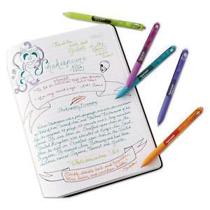 Paper-Mate-InkJoy-Gel-Retractable-Pen-0-5mm-Blue-Ink-Dozen-1951722