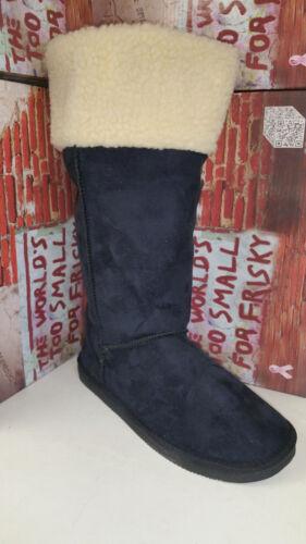 Frisky Black Faux Suede Women/'s Snow Winter Shoes Boots size 5-10 F9510