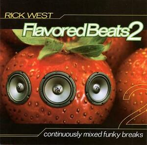 RICK-WEST-FLAVORED-BEATS-2-CD-BREAKS-DJ-DIC-STEW-MIKE-amp-CHARLIE-321-CREW-AGH-NEW