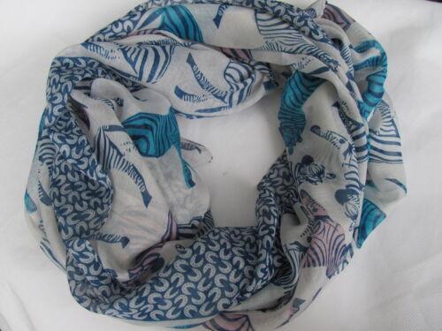 Zebra animal mode imprimé femmes écharpe châle wrap hijab 175cmx90cm uk vendeur