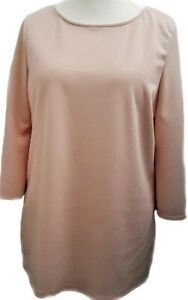 Womens-Tunic-Top-NUDE-Sofo-Curves-Plus-Size-16-18-20-22-24-26-28-30-32-34-36-New