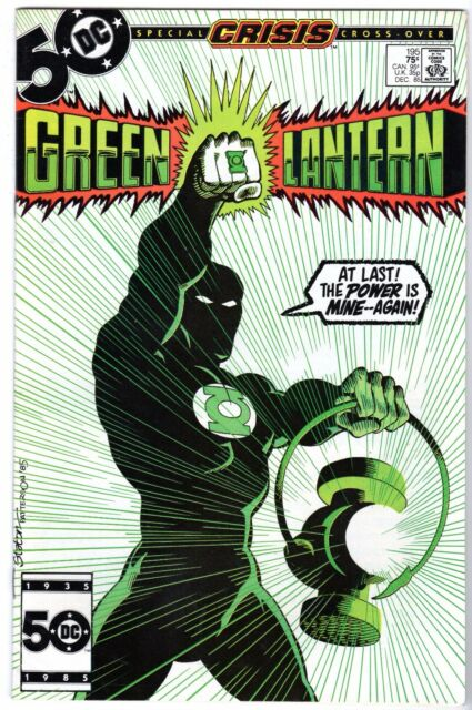 Green Lantern #195 - Guy Gardner Becomes GL,  Very Fine - Near Mint Condition'