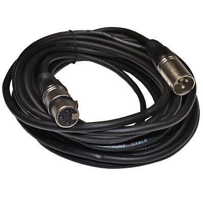 Sennheisers e 845 e 935 e 945 e 965 Microphones 3-pin XLR M to XLR F Cable Cord