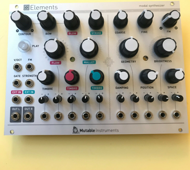Lydmodul, Mutable Instruments  Elements, Perfect…