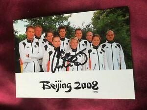 Autogramm CHRISTIANE PILZ-Triathlon Olympiamannschaft 2008-Beijing-signiert-AK