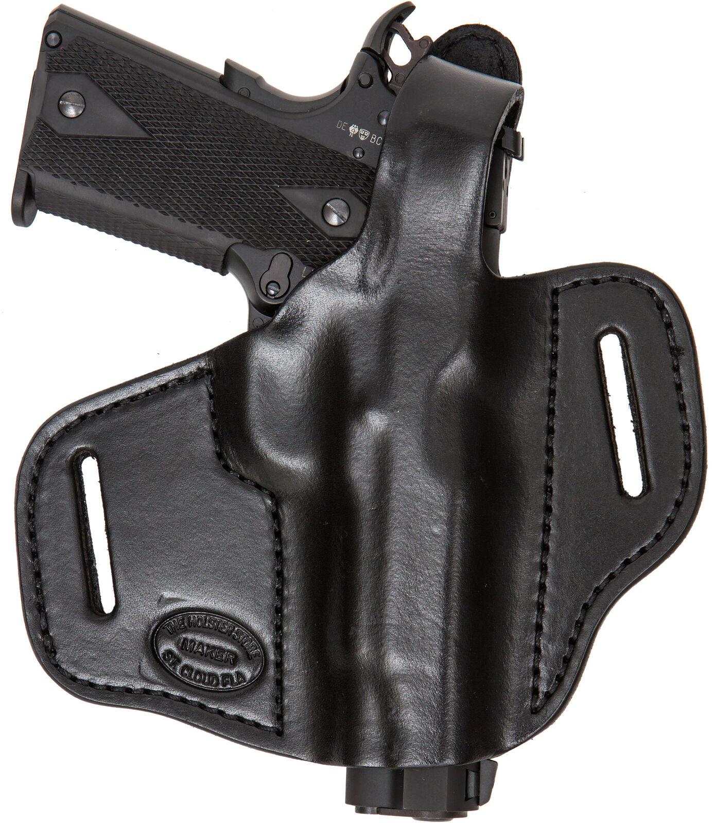 On Duty Conceal RH LH OWB Gun Leder Gun OWB Holster For Citadel 1911 3.5