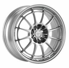 Four 4 18x95 Enkei Nt03m Et 40 Silver 5x100 Wheels Rims