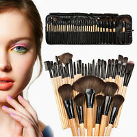 32pcs Soft Makeup Brushes Amazing Professional Cosmetic Make Up Brush Tool Set