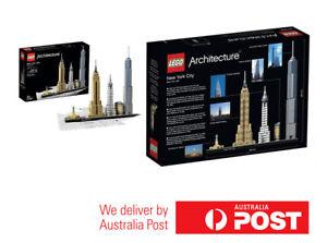 LEGO-21028-Architecture-New-York-City-BRAND-NEW-SEALED-AU-seller