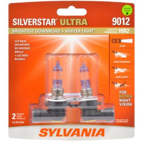 Sylvania Silverstar Ultra 9012 HIR2 55W Zwei Glühbirnen Kopf Licht Doppel Träger
