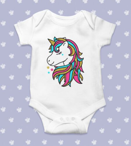 Unicorn Baby BodysuitBaby Shower GiftCute Baby ClothesFunny Baby Bodysu