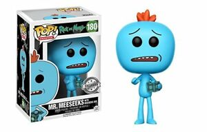 Mr. Meeseeks with Box The Rick and Morty POP! Animation #180 Vinyl Figur Funko