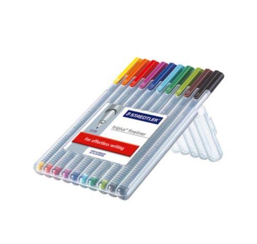 Staedtler Triplus Fineliner 0.3mm Pens Set 4, 6, 10 or 20