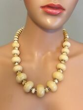 Ralph Lauren Canyon Chic Beaded Frontal Necklace
