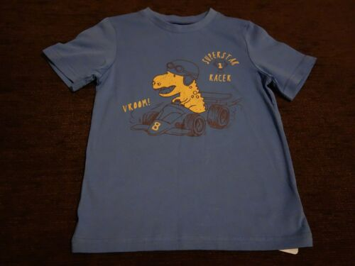 Boys/' Blue Mothercare Dinosaur T-Shirt 6-7 7-8 Years