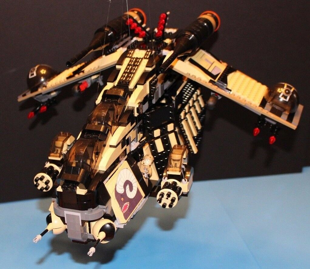 Ladrillo Lego  Star Wars ™ Custom 7676 Imperial scarif cañonera  7 Minifiguras incl.